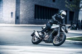 поворот, мотоцикл, 2018, husqvarna vitpilen 701