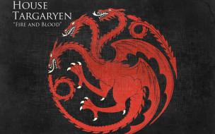 кино фильмы, game of thrones , сериал, герб, девиз, таргариен, дракон, игра, престолов