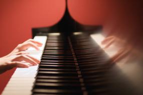 клавиши, рука
