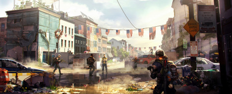 шутер, action, Tom Clancys The Division 2