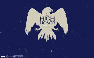 герб, девиз, орел, Игра Престолов