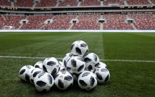 спорт, - другое, поле, мячи