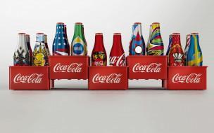 дизайт, напиток, бутылка, история, Coca Cola
