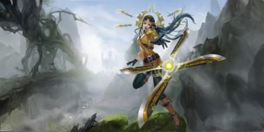 видеоигры, персонаж, Irelia, league of legends
