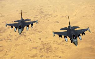 самолеты, полет, пустыня