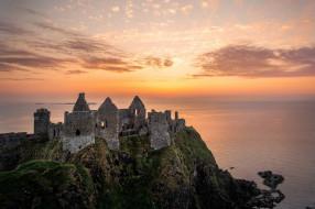 dunluce castle, города, замки ирландии, dunluce, castle