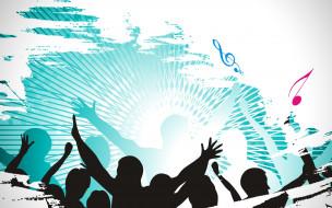 музыка, -другое, ноты, люди