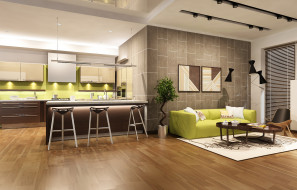 3д графика, реализм , realism, диван, интерьер, мебель, interior, модерн, design, sofa, гостиная, living, room, kitchen, кухня, дизайн