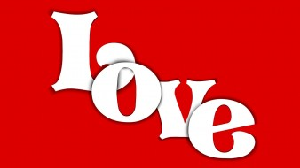 Love, Word, Red, Card