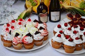 еда, пирожные,  кексы,  печенье, выпечка