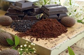 какао, шоколад