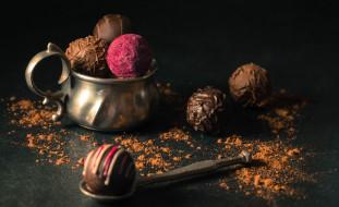 какао, конфеты, ассорти