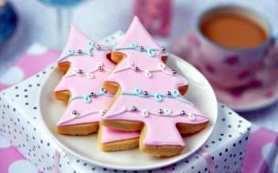 праздничные, угощения, печенье