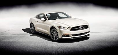 белый, Мустанг, Форд, Ford Mustang GT