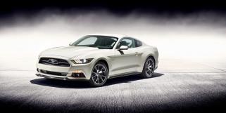 Ford Mustang GT, Форд, Мустанг, белый
