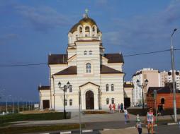 храм, город, церковь, здание