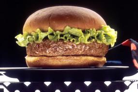 гамбургер, котлета