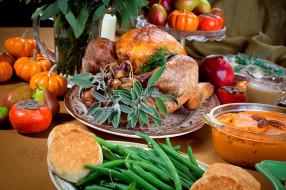 еда, мясные блюда, индейка