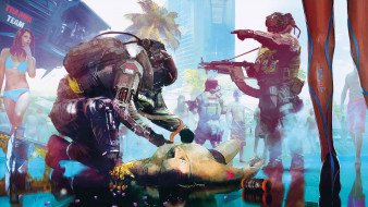 Cyberpunk 2077, ролевая, action