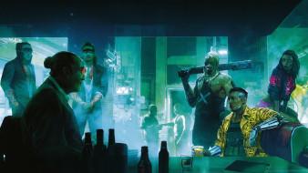 action, Cyberpunk 2077, ролевая