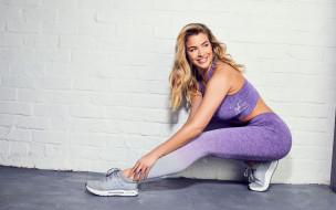 английская актриса, gemma atkinson, 2018, модель, фитнес, мотивация, блондинка, джемма аткинсон, fitness