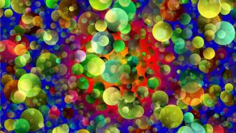 пузырьки, абстракция