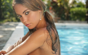 девушка, Veronika Fasterova, модель