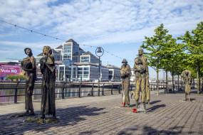 города, дублин , ирландия, скульптуры