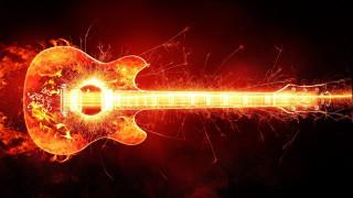 гитара, фон