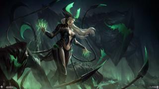 взгляд, девушка, арт, крылья, фэнтЕзи, костюм, магия, броня, черный фон