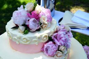 свадебный, торт