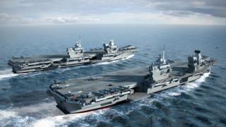 корабли, 3d, великобритания, авианосцы, типа, queen, elizabeth, class, carriers, hms, prince, of, wales, английские