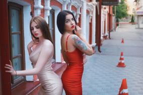 Юлия Третьякова, платье, модель, Ангелина Сорокина, Девушка, модели, улица, Alexander Drobkov-Light