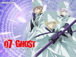 аниме, 07 ghost, labrador, castor, монах, frau