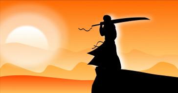 аниме, bleach, меч, воин, swordman