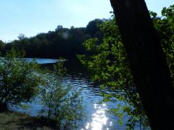 вода, блики