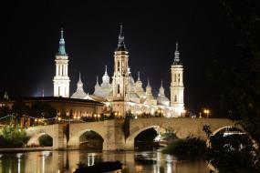 сарагоса, испания, города, - католические соборы,  костелы,  аббатства