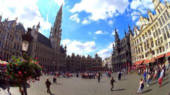 города, брюссель , бельгия, площадь