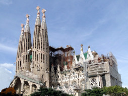 Sagrada Familia, Gaudi