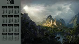 природа, здание, постройка, гора