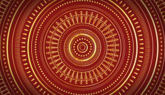 векторная графика, графика , graphics, круг, узор, орнамен, кольцо