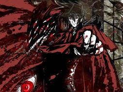 обои для рабочего стола 1920x1440 аниме, hellsing, вампир, dracula, дракула, алукард, vampire, alucard