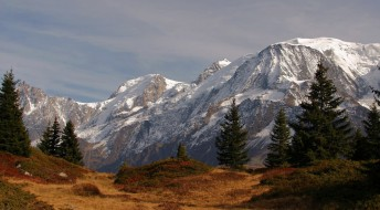 горы, пейзаж, осень