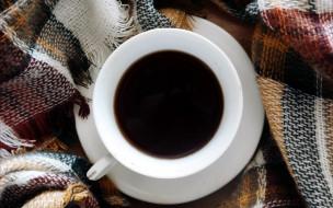 еда, кофе,  кофейные зёрна, чашка