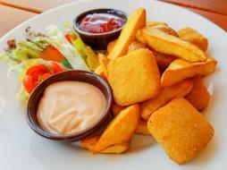 еда, вторые блюда, жареный, сыр