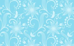векторная графика, цветы , flowers, текстура, цветы, орнамент, узор