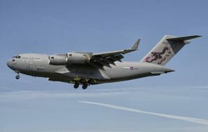 boeing c17a globemaster iii, авиация, военно-транспортные самолёты, ввс
