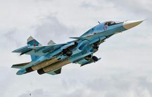 sukhoi su34, авиация, боевые самолёты, ввс