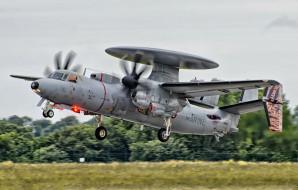 grumman e2c, авиация, боевые самолёты, ввс