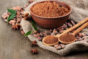 еда, орехи,  каштаны,  какао-бобы, какао